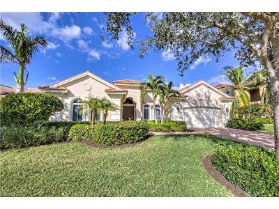 Naples Single Family Home For Sale: 439 Saddlebrook Ln