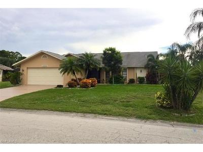 North Fort Myers Single Family Home For Sale: 15310 Sam Snead Ln