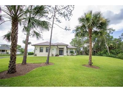 Naples Single Family Home For Sale: 4860 12th St NE