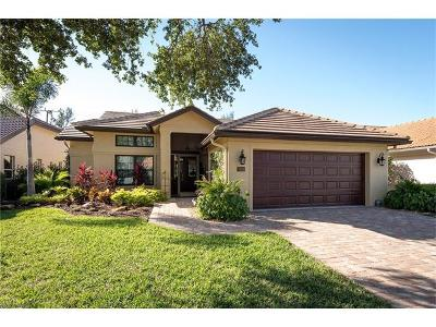 Naples Single Family Home For Sale: 7619 San Sebastian Way