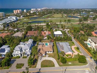 Naples FL Single Family Home For Sale: $2,200,000