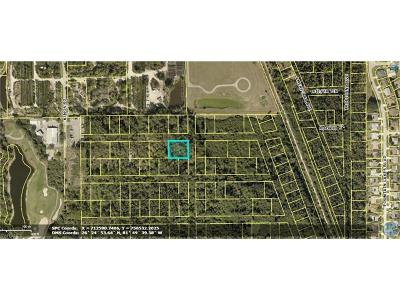Estero Residential Lots & Land For Sale: Madrid St