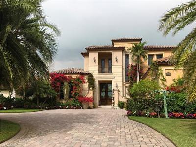 Naples Single Family Home For Sale: 9692 Lipari Ct