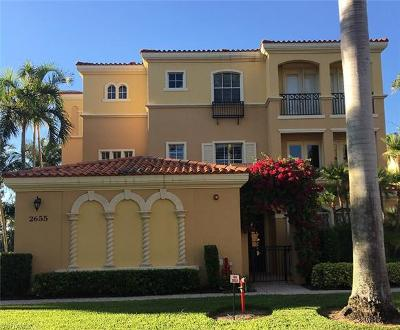 Naples Condo/Townhouse For Sale: 2655 Bolero Dr #12-2