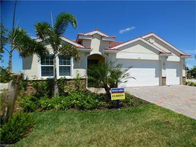 Cape Coral Single Family Home For Sale: 3013 Sunset Pointe Cir