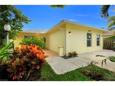 Naples Single Family Home For Sale: 616 106th Ave N