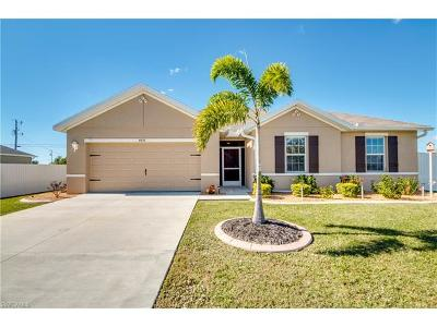 Cape Coral Single Family Home For Sale: 4518 SW 9th Ave