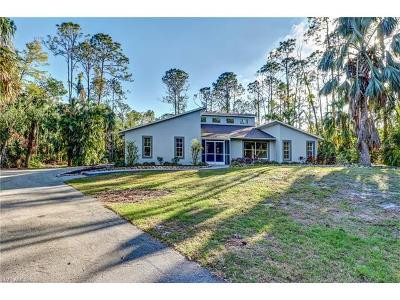 Naples Single Family Home Pending With Contingencies: 3660 23rd Ave SW