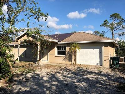Collier County, Lee County Single Family Home For Sale: 710 10th St NE