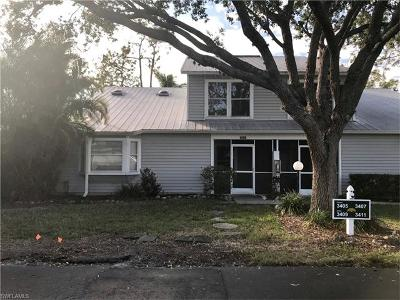 Collier County, Lee County Condo/Townhouse Pending With Contingencies: 3405 Timberwood Cir