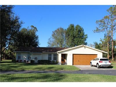 Naples Single Family Home For Sale: 3555 White Blvd