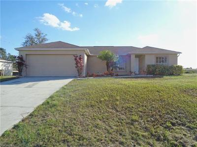 Collier County, Lee County Single Family Home For Sale: 5227 5th St W