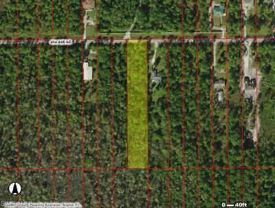 Naples Residential Lots & Land For Sale: 3590 41st Ave NE