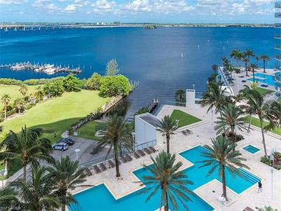 Fort Myers Condo/Townhouse For Sale: 3000 Oasis Grand Blvd #1201