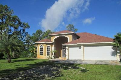 Naples Single Family Home For Sale: 5859 Jose Marti Dr