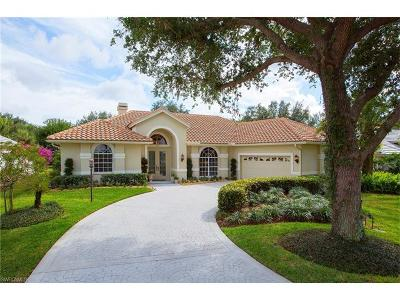 Naples Single Family Home For Sale: 258 Monterey Dr