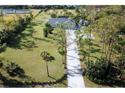 Naples Single Family Home For Sale: 731 Logan Blvd S
