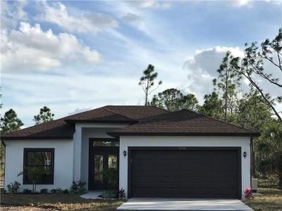 Collier County, Lee County Single Family Home For Sale: 2554 68th Ave NE