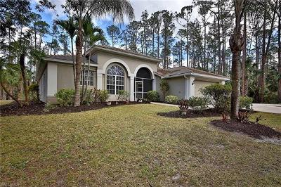 Naples Single Family Home For Sale: 4571 Pine Ridge Rd