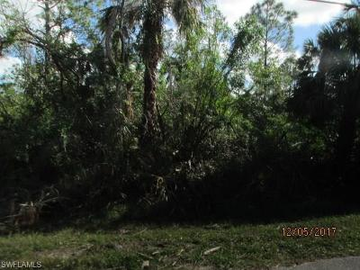 Collier County, Lee County Residential Lots & Land For Sale: 11th St SW SW