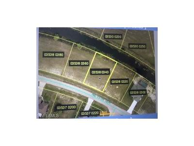 Lee County Residential Lots & Land For Sale: 1819 NE 13th Ter