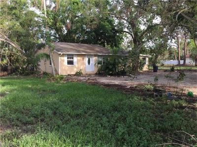 Collier County, Lee County Single Family Home For Sale: 26801 Riverside Dr N