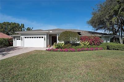 Naples Single Family Home For Sale: 757 Binnacle Dr