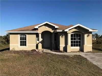 Collier County, Lee County Single Family Home Pending With Contingencies: 3687 66th Ave NE