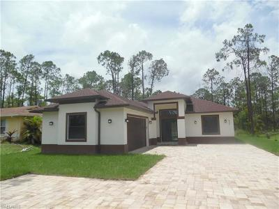 Collier County, Lee County Single Family Home For Sale: 635 18th St SE