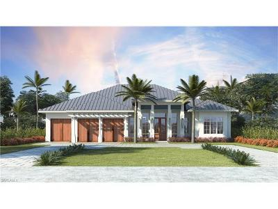 Naples FL Single Family Home For Sale: $4,295,000