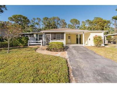 Naples Single Family Home For Sale: 2997 Poinciana Dr