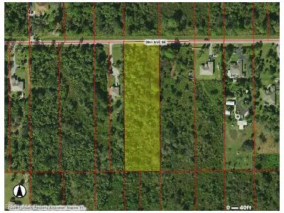 Naples Residential Lots & Land For Sale: 0000 20th Ave SE