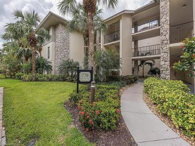 Naples Condo/Townhouse For Sale: 770 Eagle Creek Dr #102