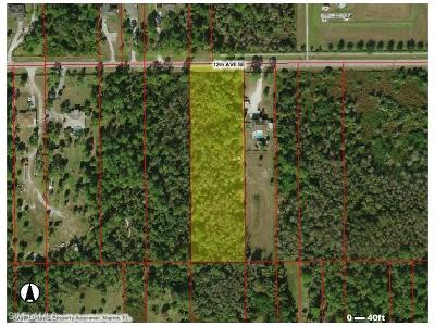 Naples Residential Lots & Land For Sale: 12 Ave SE