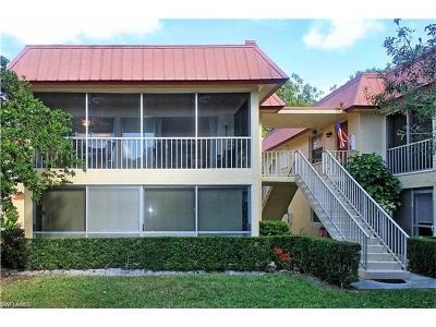 Naples Condo/Townhouse Pending With Contingencies: 1549 Sandpiper St #63
