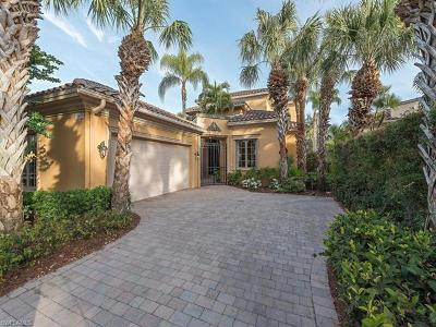Naples Single Family Home For Sale: 15639 Villoresi Way