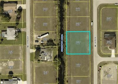 Lee County Residential Lots & Land For Sale: 1418 NE 19th Pl