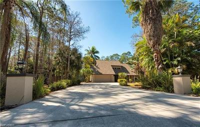 Naples Single Family Home For Sale: 5515 Cynthia Ln
