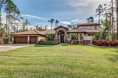 Naples FL Single Family Home For Sale: $565,000