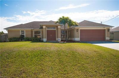 Cape Coral FL Single Family Home For Sale: $329,000