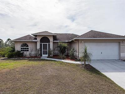 Collier County Single Family Home For Sale: 2870 56th Ave NE