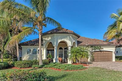 Naples Single Family Home For Sale: 9405 Italia Way