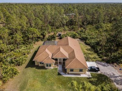 Collier County Single Family Home For Sale: 330 27th St NW