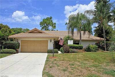 Naples Single Family Home For Sale: 163 Westwood Dr #12