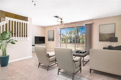 Fort Myers Condo/Townhouse For Sale: 9505 Roundstone Cir