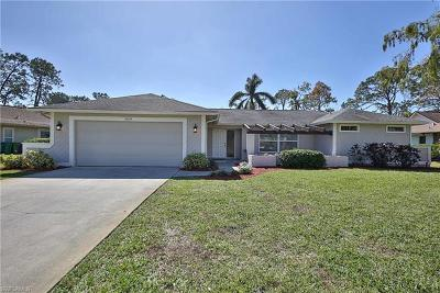 Naples Single Family Home For Sale: 3031 Round Table Ct