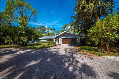 Naples Single Family Home For Sale: 4525 North Rd
