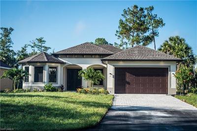 Golden Gate Estates Single Family Home For Sale: 4470 18th Ave NE