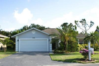Naples Single Family Home For Sale: 3648 Kent Dr