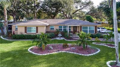 Fort Myers Single Family Home For Sale: 1340 Braman Ave